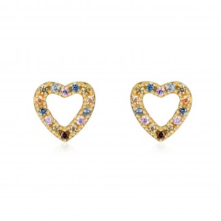 Pastel Heart earrings