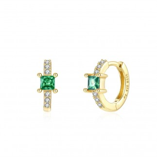 Green Royal hoops