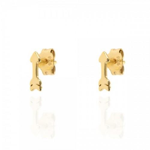Small arrow earrings