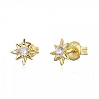 Shooting star earrings with...