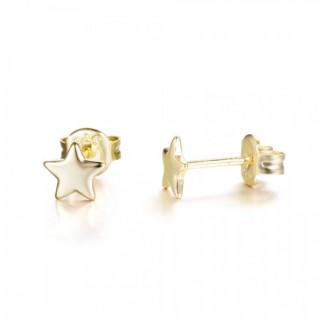 Small star earrings