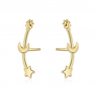 copy of Three stars earrings