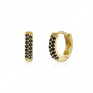 Black zirconia hoops