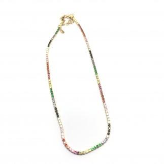copy of Stars zircons necklace