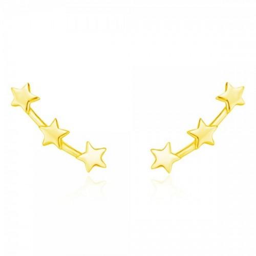 Three stars earrings
