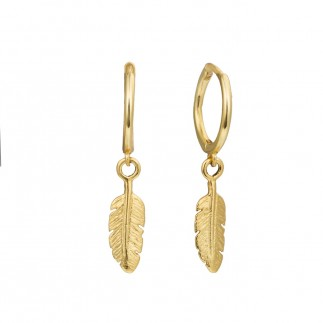 Feathers hoops