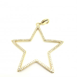 Big star pendant